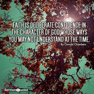 Faith is confid... God And Confidence Quotes