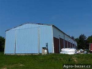 Ocelová konstrukce haly bazar