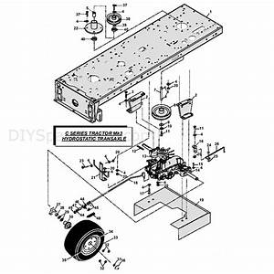 Countax C Series Kawasaki Lawn Tractor 2010  2010  Parts Diagram  Mk3 Hydrostatic Transaxle