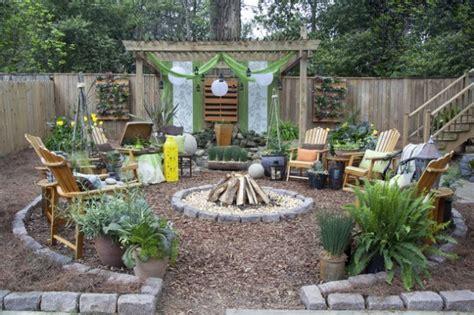 de  fotos de jardines rusticos  decorar el patio