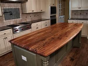 Butcher Block Countertops - Country Home Design Ideas