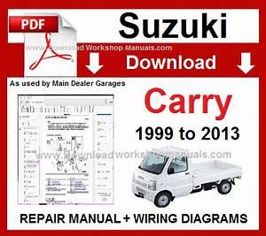 Suzuki Carry Workshop Repair Manual  U0026 Wiring Diagrams 1999