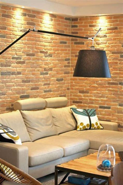meuble de cuisine style industriel les briques de parement et les briques apparentes