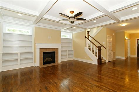 Craftsman Style Built In Bookcases by Craftsman House Morrisville Homes For Sale Stanton Homes