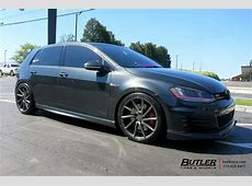 VW Golf with 19in Vossen CVT Wheels exclusively from
