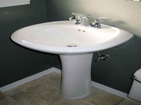 how to install a pedestal sink kitchen how to install a pedestal sink pedestal bathroom