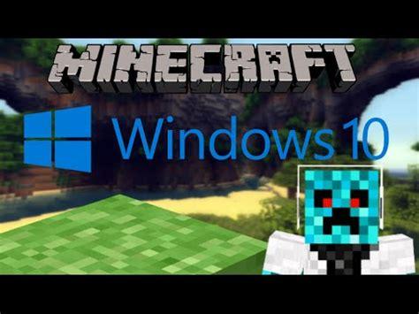 Minecraft Windows 10 Edition!!  Walk Through & Review