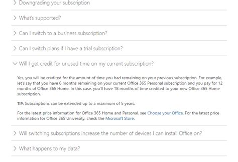 Office 365 Upgrade by Upgrading Your Office 365 Subscription From Personal To