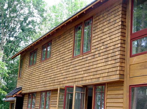 are there different types of wood siding
