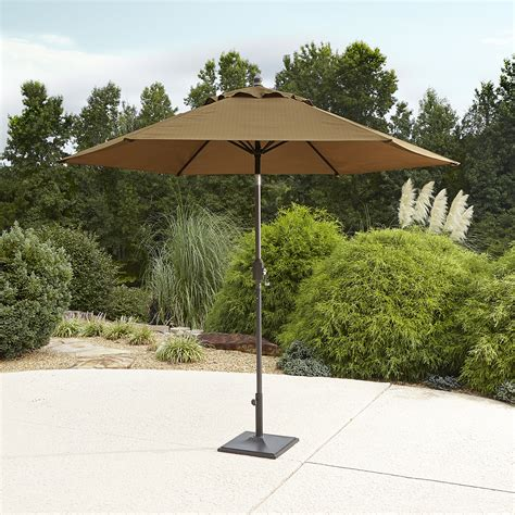 garden oasis emery 9 patio umbrella golden brown