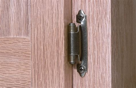how to install self closing cabinet hinges how to install surface mounted hinges startwoodworking com