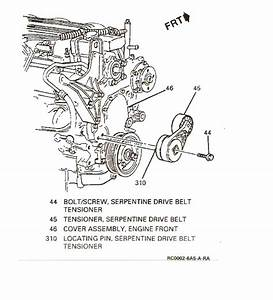 I Have A Loose Serpentine Belt On My 1994 Buick Century And Don U0026 39 T Know How To Tighten