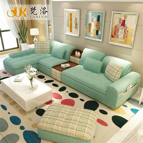 Sofa Sets For Drawing Room by Living Room Furniture Modern L Shaped Fabric Sectional