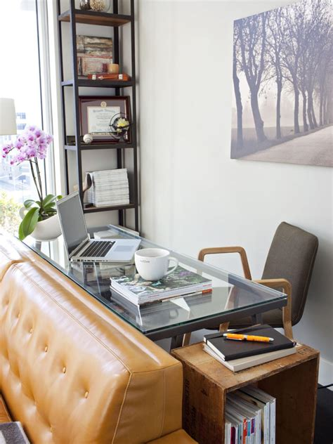 Ideas In Small Spaces by Small Space Home Office Ideas Hgtv S Decorating Design