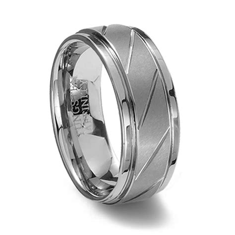 Brushed Finish Tungsten Carbide Ring & Diagonal Grooves. Trapezoid Engagement Rings. Lovely Wedding Wedding Rings. Texas Tech Rings. Imran Name Rings. $30 000 Wedding Rings. Silver Band Engagement Rings. Natural Sapphire Company Engagement Rings. Real Hand Rings