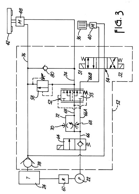 Patent US6293479 - Feed control hydraulic circuit for wood