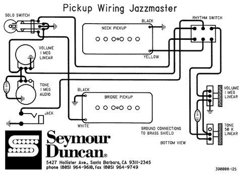 schematics  goodies fenders jazzmaster jaguar