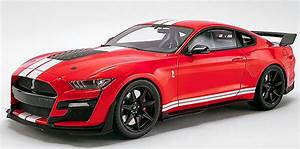 Ford Mustang Shelby GT500 2020 Red with White Stripes – Riverina Model Cars Plus