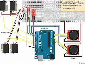 Mearm 1 6 1 Robot Joystick Board Recording Movements  Ir