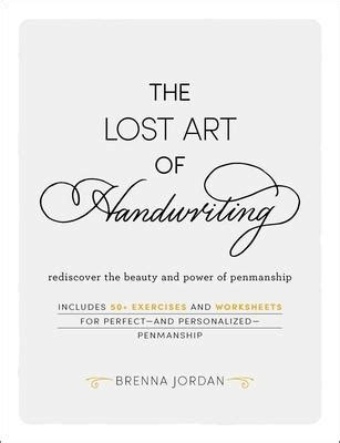 lost art  handwriting brenna jordan