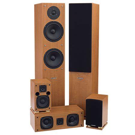 surround sound system fluance sxhtb 5 speaker surround sound home theater system walmart