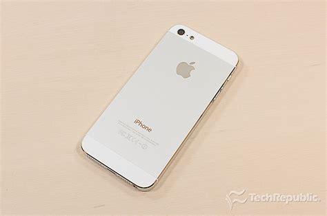 open iphone 5 open the apple iphone 5 techrepublic