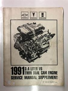 1991 3 4 Liter V6 Twin Dual Cam Engine Service Manual