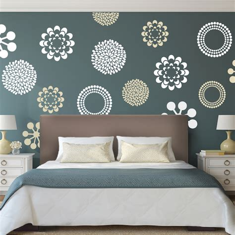 Bedroom Design Wall by Prettifying Wall Decals From Trendy Wall Designs