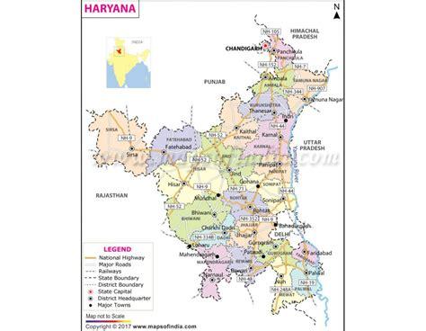 buy haryana map