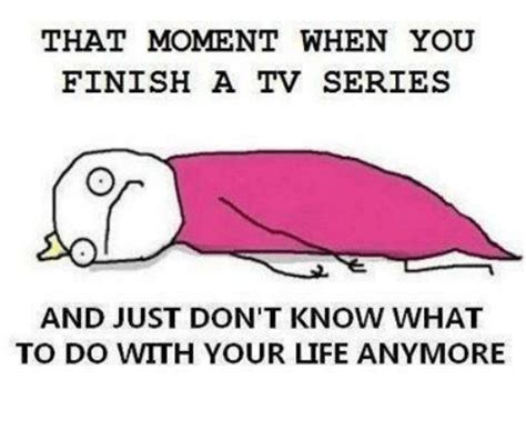 What To Do With Tv by 25 Best Tv Series Memes Rowes Memes When You Finish A