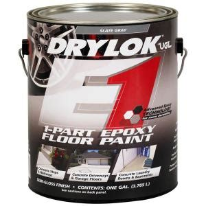 Drylok Floor Paint Home Depot by Ugl 1 Gal Gray Epoxy E 1 Floor Paint 209186 The Home Depot