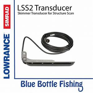 Lss2 Skimmer Transducer For Structure Scan For Lowrance