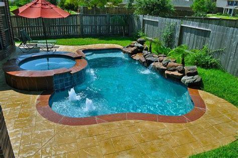 gorgeous backyard swimming pools  small sizes  everyones taste