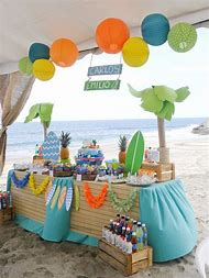 beach themed birthday party ideas nkppao