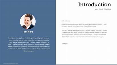 Introduction Slide Slides Presentation Template Presentations