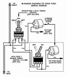 turn signal flasher wiring diagram wiring diagram and With wiring turn signals