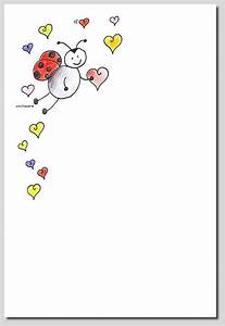 Geschenkkarten Zum Ausdrucken : briefpapier herz k ferlein kreativzauber motivstempel adressaufkleber briefpapier ~ Markanthonyermac.com Haus und Dekorationen