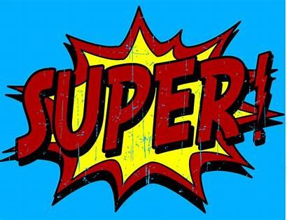Superhero Super Words Clipart Hero Phrases Clip