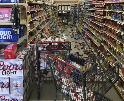 Earthquake California Damage Angeles Southern Los Ridgecrest
