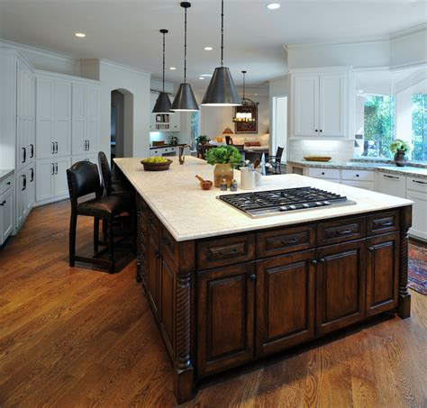 kitchen island cooktop nice amaza design