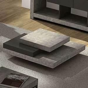 Table De Salon Moderne : table salon moderne design table basse bois chene maisonjoffrois ~ Preciouscoupons.com Idées de Décoration