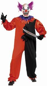 Scary Halloween Clown costume for adults: Adults Costumes ...