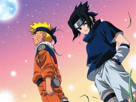 Naruto Dan Sasuke Wallpaper