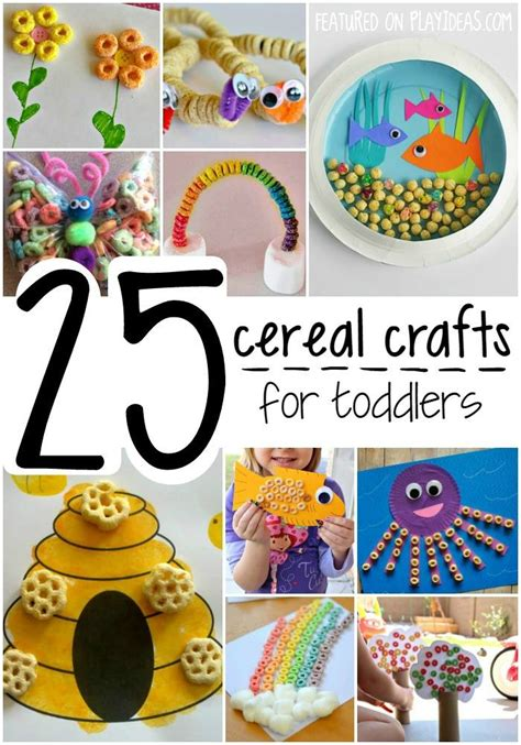 For Toddlers by 25 Cereal Crafts For Toddlers Page 23 Play Ideas