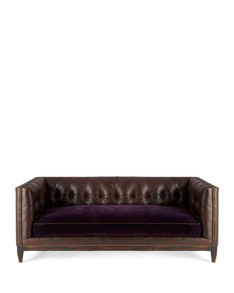 old hickory tannery sofa old hickory tannery mulberry sofa