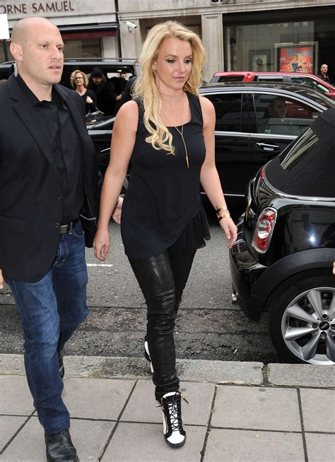 britney spears  leather london october