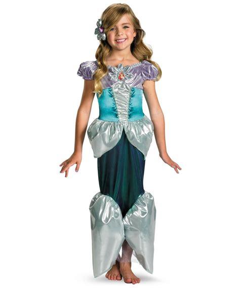 ariel disney princess kids costume girls disney costumes