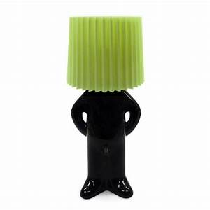 mr p one man shy lamp black torso With mr p table lamp