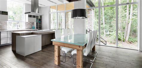 cuisine plancher bois bois ditton