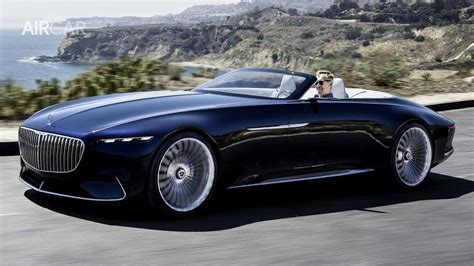 2019 Vision Mercedes Maybach 6 Cabriolet A Revelation Of
